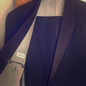 Calvin Klein Tuxedo size 52, pants 46,inseam 27 in